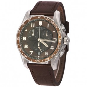 Relógio Victorinox Chrono Classic XLS Brown 241653