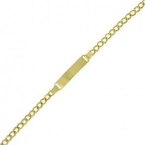 Pulseira Infantil Grumet Oca 13cm Com Chapa - 1.80gr