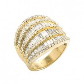 Anel Sublime com Diamantes