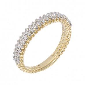 Anel Diamond com 43 Brilhantes