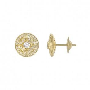 Brinco Royals Little Com 2 Diamantes 15 Pontos e 88 Diamantes 0.44Ct