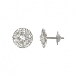 Brinco White Royals Little Com 2 Diamantes 15 Pontos e 88 Diamantes 0.44Ct