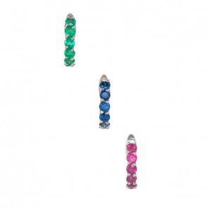 Piercing-Argola-com-Pedras-6-Preciosas-2.30mm-Ouro-Branco-(Pingentes)