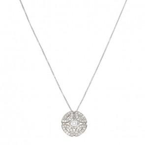 Gargantilha White Royals Com 1 Diamante 30 Pontos e 45 Diamantes 0.33Ct