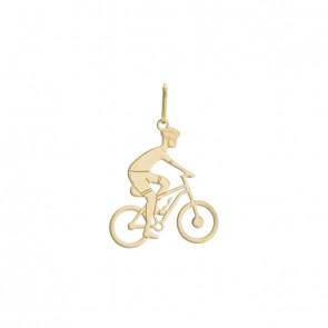 Pingente-Ciclista