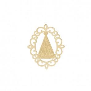 Pingente Nossa Senhora Aparecida de Ouro