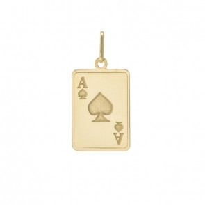 Pingente Poker gravado